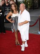 "Tenacious d' kyle gass.""funny people"" los angeles premiere.held at the arcli Stock Photos"