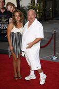 "tenacious d' kyle gass.""funny people"" los angeles premiere.held at the arcli - stock photo"