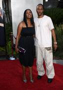 "rza; talani rabb.""funny people"" los angeles premiere.held at the arclight the - stock photo"