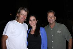 Stock Photo of nels van patten, nancy valen, jimmy van patten.the donate life concert series