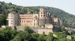 Heidelberg Castle Stock Footage