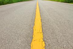 asphalt dark texture - stock photo