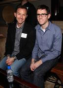 Dan jinks, guest.media glaad awards kick off party.held at a private residenc Stock Photos