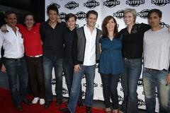 """27th annual los angeles gay and lesbian film festival's screening of """"glee"""" - stock photo"""