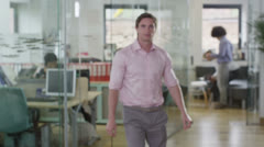 Portrait of fashionable young professional in contemporary office - stock footage