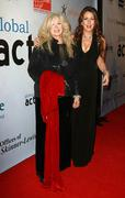 Connie stevens (l) and joely fisher.1st annual global action awards gala arri Stock Photos