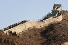 Great wall of china Stock Photos