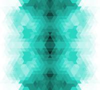 Triangle retro background. - stock illustration