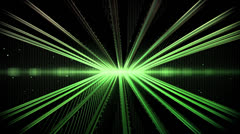 Iconic Steel Axis Green Stock Footage