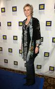 jane lynch.human rights campaign's annual los angeles gala & hero awards.held - stock photo