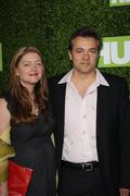 """colette burson and dmitry lipkin.hbo presents the premiere of """"hung"""".held at - stock photo"""