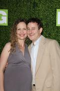 "Eddie jemison  and wife .hbo presents the premiere of ""hung"".held at paramoun Stock Photos"