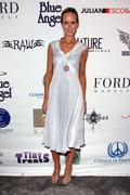 lady victoria hervey.icon jet unveilling of 1st vip 737 .held at the van nuys - stock photo