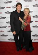 cloris leachman, son adam englund.inglourious basterds los angeles premiere.h - stock photo