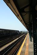 Stock Photo of 7 train