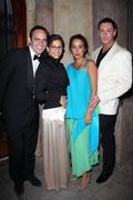 simon boyce, eva di shanni, julia clancey and sean.red carpet uk designer, ju - stock photo