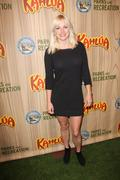 anna faris.kahlua celebrates the premiere episode of nbc's new show parks & r - stock photo