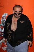 ken davitian.ken davitian visits the ed hardy outlets.held at the ed hardy he - stock photo