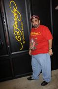 Stock Photo of ken davitian.ken davitian visits the ed hardy outlets.held at the ed hardy he