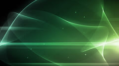 Worship Background Light Wave Green - stock footage