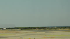 Departures at barcelona airport Stock Footage