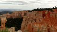 Stock Video Footage of Bryce Canyon Timelapse 15 Hoodoos and clouds at Agua Canyon