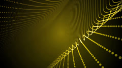 Light Bands Yellow Stock Footage