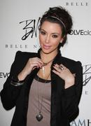 the launch of kim kardashian's jewelry collection 'belle noel' - stock photo