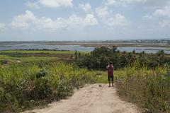porto de gallhinas pernambuco brasil - stock photo