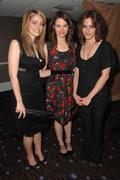 clementine ford, leisha hailey, katherine moennig.l.a. gay & lebian center pr - stock photo