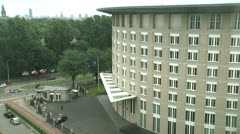 Headquarters of the OPCW The Hague Stock Footage