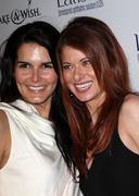angie harmon, debra messing.launch party for latisse .held at a private locat - stock photo