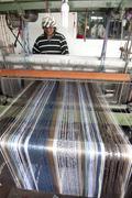 Mechanical loom otavalo ecuador sudamerica Stock Photos