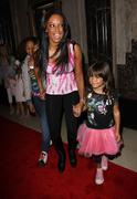Stock Photo of melanie brown a.k.a mel b and daughters phoenix chi, and angel iris.the los a