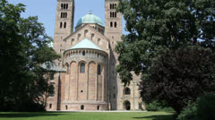 Speyer Cathedral Stock Footage