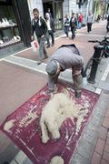Sidewalk artist dublin irland Kuvituskuvat