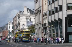 Urban scene dublin irland Kuvituskuvat