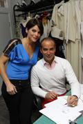 "lloyd klein and actress lesli kay aka ""felicia"".actress lesli kay aka ""felici - stock photo"
