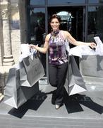 "Stock Photo of lesli kay aka ""felicia"" get ready for the daytime emmy awards"