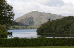 Lake and Hills kilarney national park irland - stock photo