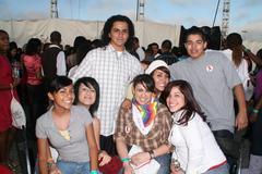 macy's passport day 2 teens aids awarness day - stock photo