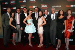 mad men cast - stock photo