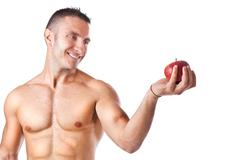 Healthy apple Stock Photos