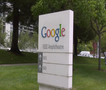 Google Headquarters Stock Footage