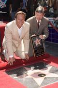 mark burnett and leron gubler.producer mark burnett honored with the 2,387th - stock photo