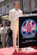 Producer mark burnett honored with the 2,387th star on the hollywood walk of Stock Photos