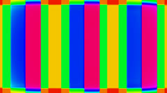 Abstract multicolored rectangles Stock Footage