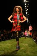 Stock Photo of christian audigier presents american lord - mbfw spring 09 - runway
