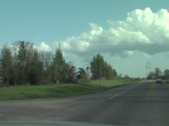 Alabama Open Road 1 - stock footage