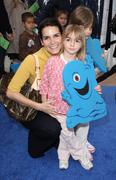 angie harmon.los angeles premiere of dreamworks animation's monsters vs. alie - stock photo